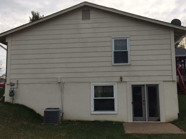 Exterior Siding Repair - Before