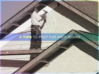 4 Tips to Prep for Vinyl Siding