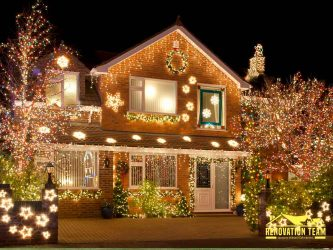 How to Hang Your Holiday Lights Without Causing Roof Damage